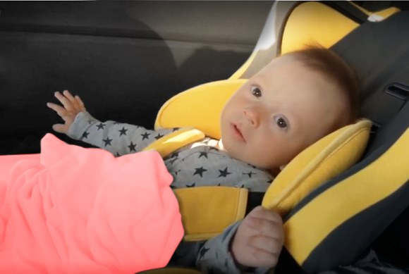 Read when to put baby in convertible car seat